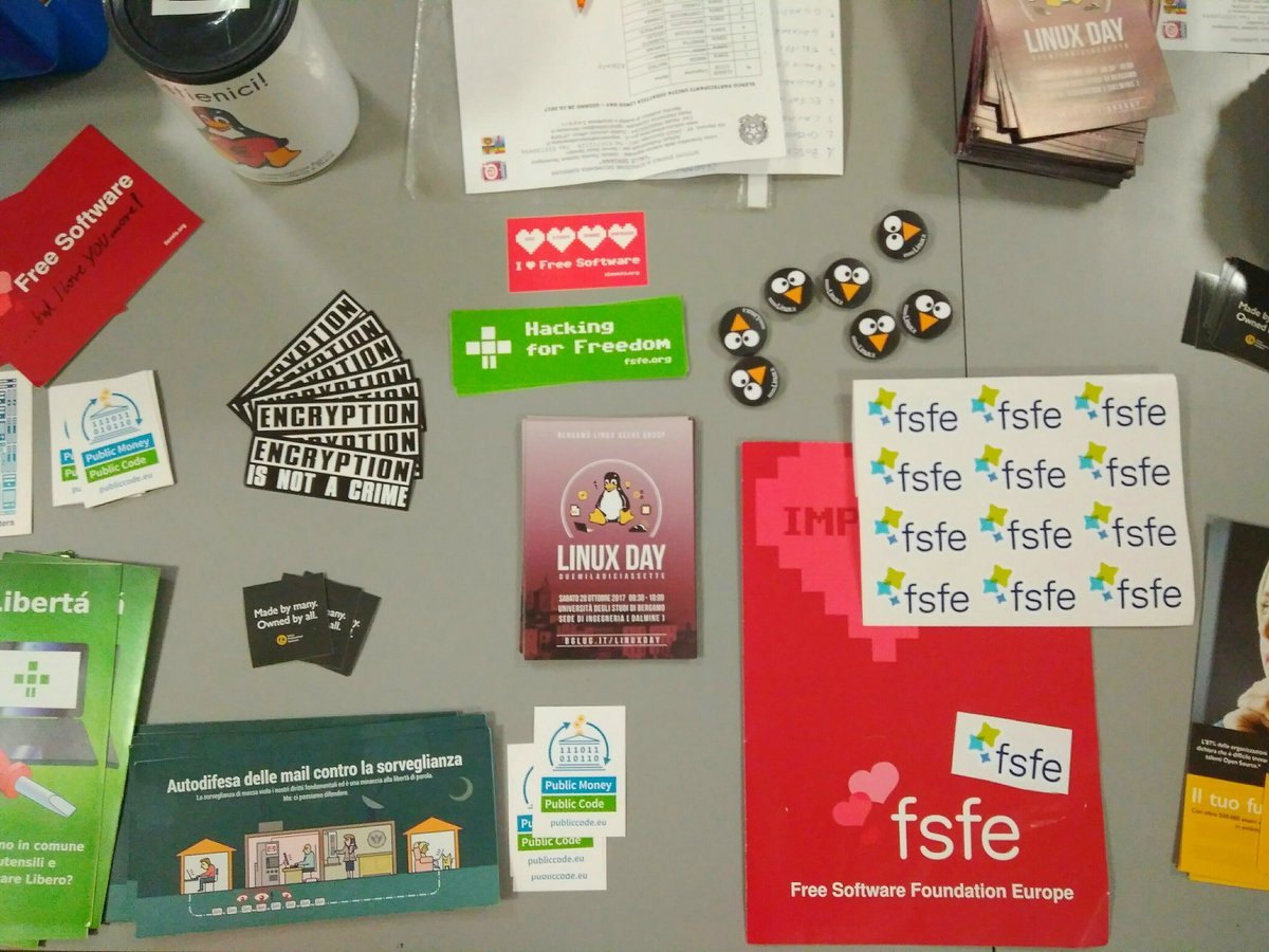 Notices tagged with fsfe - Creative Commons
