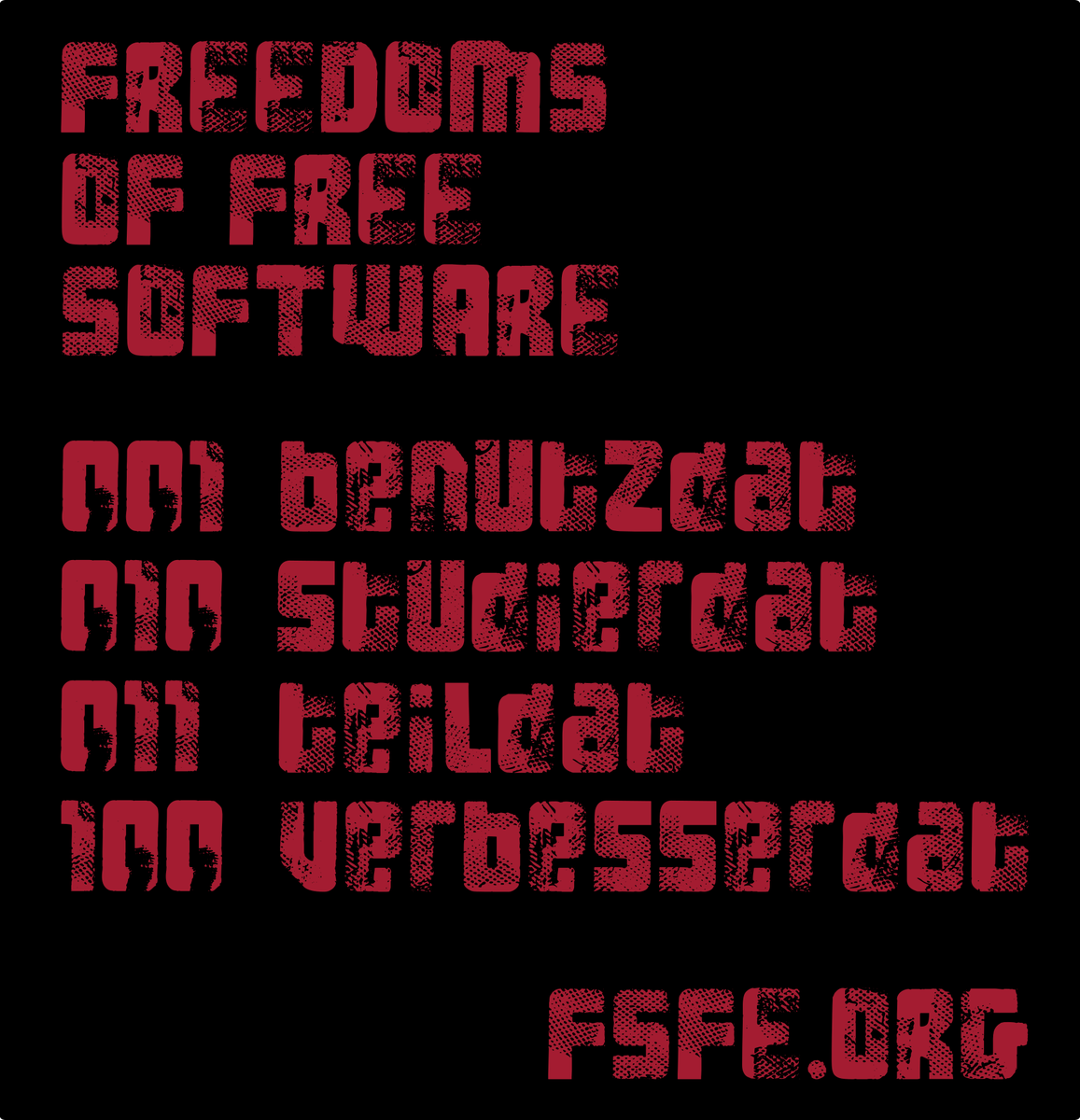 Free Software Foundation Europe (fsfe@quitter.no)'s status ...